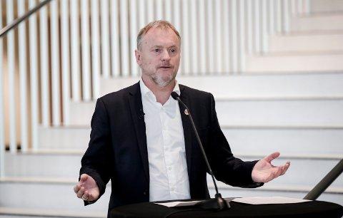 Byrådsleder Raymond Johansen (Ap) i Oslo kan konstatere at byen han leder har fått en av landets beste smittetall. Foto: (NTB scanpix)