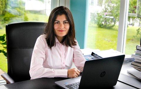 FORSKER: Ella Idsøe forsker på evnerike elever, som hun mener er neglisjert i norsk skole. FOTO: TRINE JØDAL