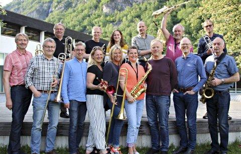 Konsert: Sunndal Storband holder konsert i Støgu onsdag 12. juni.