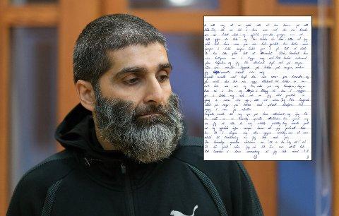 Den profilerte islamisten er på krigsstien mot Bergen fengsel. Her hevder han at betjenter tok strupetak på ham og begikk andre voldelige handlinger i mai 2017.