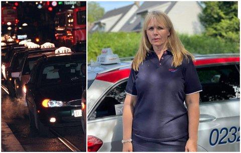 UBEHAGELIG: Anne Karlsen Hove, leder i Norges Taxiforbund avdeling Oslo Taxi, har fått høre historier om seksuell trakassering fra hennes kvinnelige passasjerer.