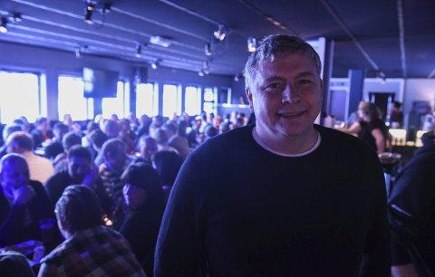 Sikter høyt: Truls Paulsen i Dragefossen er godt inne i Blåfrostfestivalen med sponsormidler. Det er et ansvar de tar med stor glede. For Saltdal-selskapet ble fjoråret et solid år med millionomsetning, men i 2019 sikter de enda høyere.