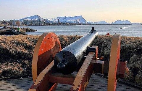 Nyholmen Skanse i Bodø.