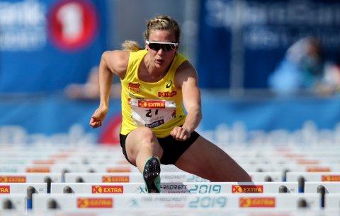 Isabelle Pedersen vant NM, men sliter med VM-kravet.