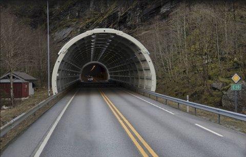Slik vil RoadCaps løsning se ut ved munningen av Dalseidtunnelen. ILLUSTRASJON. ROADCAP/GOOGLE