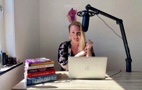 FÅR STIPEND: Sexolog Margrethe Salvesen Klippenberg får er tildelt stipend fra profesjonsrådet for vernepleiere.