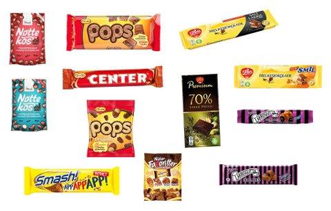 KNIPPE SØTE NYHETER: Sjokolade kommer i alle varianter, men mest med søtt og salt i februar.