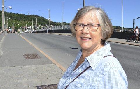 Det aller beste ved Drammen: – Åsene, elven og fjorden, sa Wildenvey. Og det er jeg enig i, sier Eli-Sofie Thorne.
