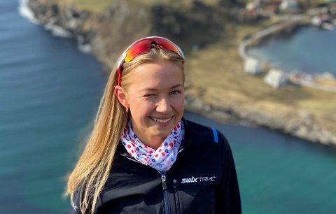 ASKROVA: Øya Askrova utanfor heimbyen Florø har ein heilt spesiell plass i hjartet til Ailin Hammerseth Svardahl (25).