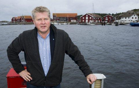 Trenger penger: Rådmann Dag W. Eriksen mener Hvaler kommune trenger penger for å ta vare på brygger og havneanlegg. arkivfoto Trond Thorvaldsen