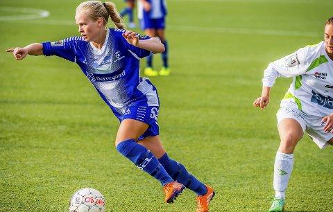 BLIR TOPPSERIESPILLER: Julia Arnesen vil neste uke signere en kontrakt med Røa.