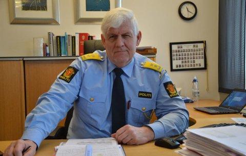 UP-sjef Runar Karlsen bebuder økt kontrollaktivitet i tiden som kommer - farten skal ned.