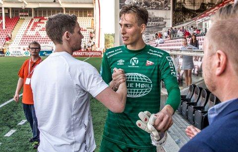 Blir: Håvar G. Jensen er enig med FFK om spill ut 2021-sesongen. (Foto: Geir A. Carlsson)