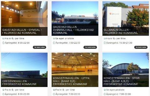 SLIK BLIR DET: Slik ser det foreløpig ut på nettsiden som Fredrikstad kommune er i ferd med å bygge opp sammen med utviklerne av systemet. Sidene vil bli tatt i bruk til høsten.
