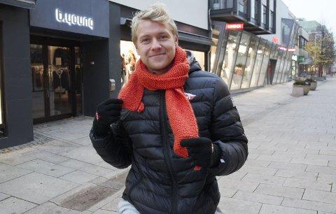 OBOS ELLER 2. DIVISJON? Filip Westgaard hadde en meget god sesong for Kvik Halden i 2019. Nå kan det bli både OBOS-ligaen og 2. divisjon kommende sesong på 25-åringen.
