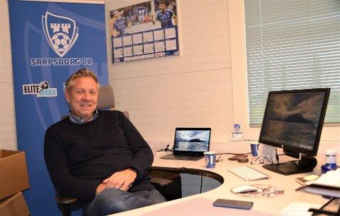 Mot slutten: Tommy Widlund har snart bare en måned igjen før han slutter i Sarpsborg 08