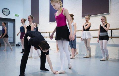 UVENTET BESØK: På Attic får de besøk av folk som tror at dansestudioet er testsenter for korona. Det er de luta lei av. Bildet er tatt i 2017, og ment som en illustrasjon.