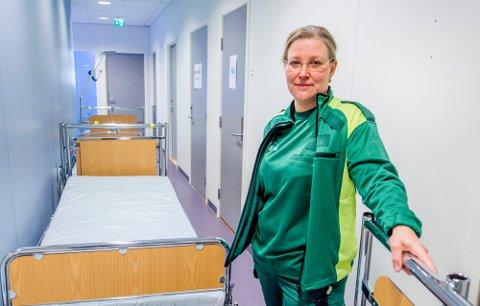 Avdelingsleder ved legevakten i Fredrikstad og Hvaler, Inger Marie Moksnes,forteller om en enorm pågang på legevakten de siste to ukene. Foto:Arkiv