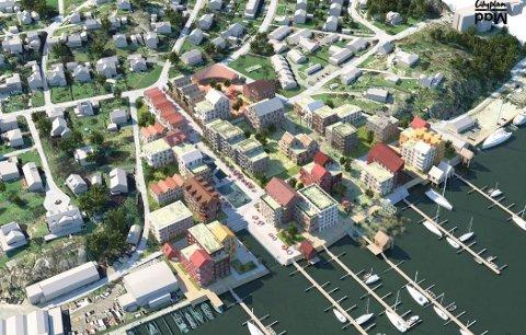 Politikerne vil ha klare forsikringer om at promenaden mellom blokkbebyggelsen og elven i Gressvik Havn – Cityplans planlagte prosjekt ved Gressvikfloa – blir tilgjengelig for allmennheten. De vil ha egne bestemmelser i den kommende reguleringsplanen som sikrer dette.