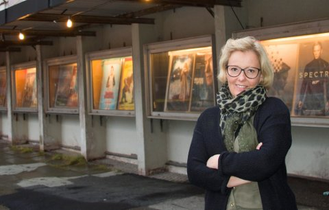 Renee Bjørstad, kinosjef på Aurora Kino Narvik.