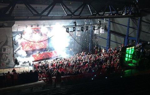 Landstreffet i Kongeparken feirer 35-årsjubileum neste år. Her fra en konsert i amfiet i 2017.