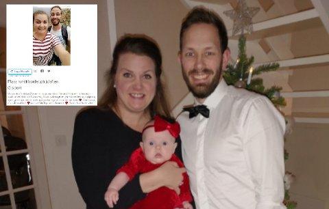 PLASS VED BORDET: Miriam og Joakim Hoel har en litt annerledes julaften i vente. I år har de nemlig invitert hjem fremmede.