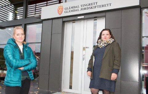 BEKYMRET: Stortingsrepresentant Emilie Enger Mehl (Sp) er sammen med Kongsvinger-ordfører og partifelle Margrethe Haarr bekymret for framtida til Glåmdal tingrett og Glåmdal jordskifterett. De mener Fremskrittspartiet bryter tidligere løfter om å bevare tingrettene som i dag.