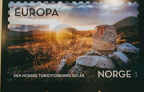 Gråhøgda på Venabygdsfjellet er ett av flere motiver på de nye frimerkene.