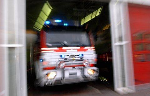 Nærmest: Brannvesenet er ofte nærmest når behovet for assistense dukker opp, også behovet for helsehjelp.