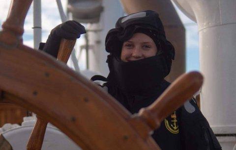 Regine Stokkevåg Eide var ikke spesielt glad i båtlivet før hun starta på sjøkrigsskolen.