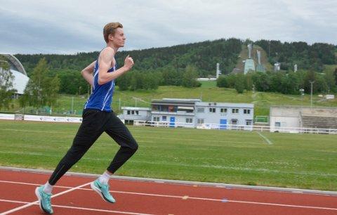 Nytt rekordløp: Håvard Bentdal Ingvaldsen løper oppsiktsvekkende.