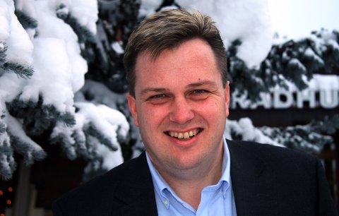 HAR GÅTT BORT: Kultursjef i Gran, Tommy Jensen, døde lørdag 21. mars. Arkivfoto