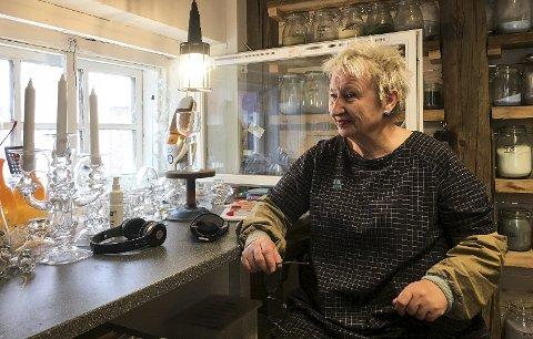 Ulla Mari Brantenberg er først ute. Hun skal snakke om styrke.