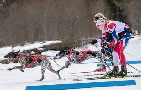 VANT: Oda Foss Almqvist gikk helt til topps i helgas world cup.