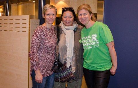 Cathrine Lie(f.v.), Wenche Erichsen og Else-Marie Andersen Guldal har ledet TV-aksjonen i år med Frivillighetssentralen.