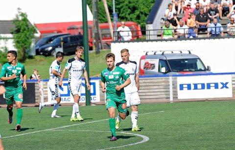 Mathias Engebretsen og Kvik fikk det ikke til å stemme mot Arendal lørdag ettermiddag.