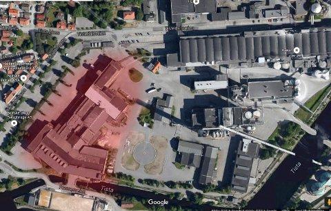 PLASS NOK: Saugbrugs har plass nok å ta av. Arkiv.