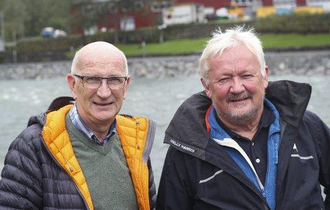 Seier nei til fossefestival: Jan Alne, styreleiar i Tyssefaldene AS, og dagleg leiar Harald Grande.foto: Synnøve nyheim