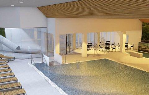 NYE TYSVÆRTUNET: Skisse av hvordan det nye påbygget i Tysværtunet vil se ut.
