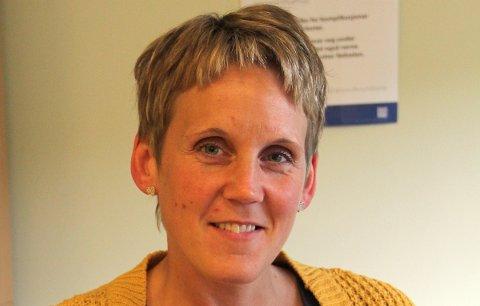 Heidi Iren Simensen fra skal drive Frivilligsentralen i Leirjford.