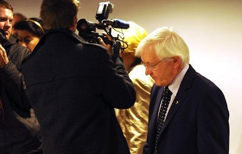 POPULÆR: Ordfører Asgeir Almås er Terra-veteran og har vært et populært intervjobjekt mens saken har rullet og gått. Foto:Vidar Ruud,ANB