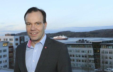 HÅP: Fylkesrådsleder Tomas Norvoll håper en ny OECD-rapport vil bidra til større inflytelse fra Nord-Norge. Arkivfoto: Trond E. Willassen
