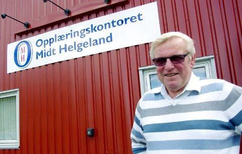 Opplæringskontor: Einar Knutli er daglig leder for opplæringskontoret Midt-Helgeland. foto: Mathias odden