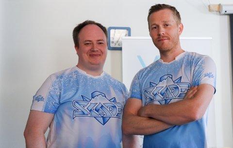 SAMARBEID MED ELITESERIKLUBBEN: : Kim-Erik Aanes (t.v.) og Sondre Kastnes i HelgeLAN skal hjelpe Bodø/Glimt.