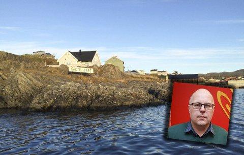 HÅPER PÅ TILSKUDD: Ordfører i Gamvik kommune, Trond Einar Olaussen, håper på tilskuddet fra Kystverket på 3,7 millioner, som skal gå til å opprette nyflytebrygge for større fiskerifartøy.