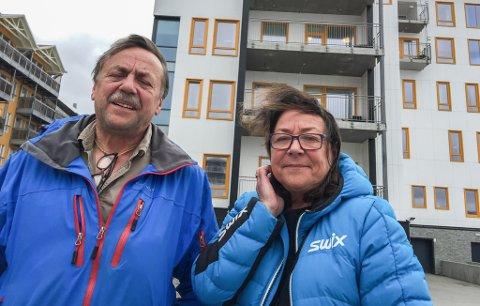 UTSLITTE: - Nå klarer vi snart ikk emer, sier Kurt Bjarne Nilsen og Karin Tangen.