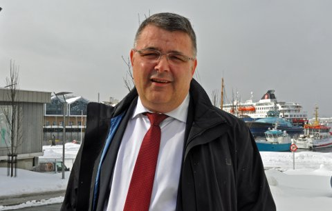 VIL HA STØRRE TEMPO: Olje- og energiminister Kjell Børge Freiberg vil lyse ut rekordmange blokker i Barentshavet i årets TFO-runde.
