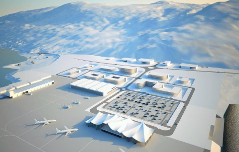 Ny lufthavn på Grøtnes: Når kommer den, og kommer den i det hele tatt, spør spaltist John Wahl.