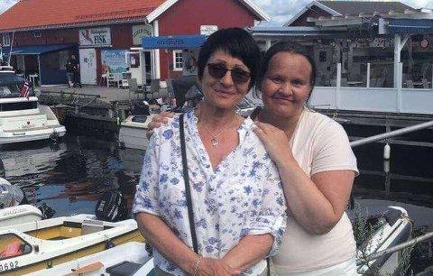 GODT FORHOLD: June Eliassen Enoksen og mor Turid Fredriksen har et nært forhold. Nå har Turid satt i gang et eget lite utsalg for å samle inn penger slik at June kan få behandling for MS i Moskva.