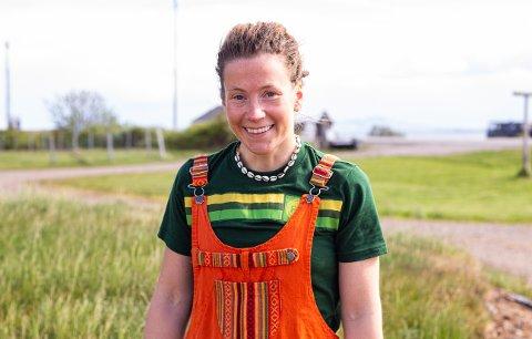 OPPLEVDE MYE PÅ TUREN: Kristin Harila (35) er kommet tilbake til Vadsø. Hun hjelper til på søsterens gård, og forteller om den eventyrlige turen til Himalaya når iFinnmark kommer på besøk.